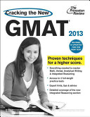 Cracking the new GMAT from Princeton Review