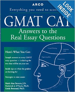The textbook GMAT CAT from ARCO (Macmillan, USA)